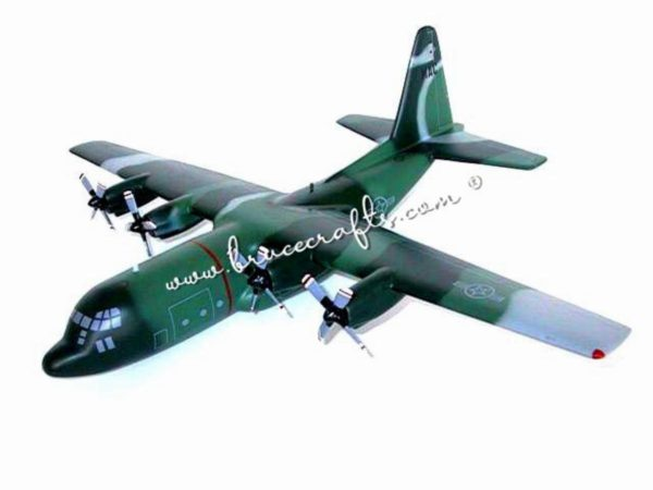 lockheed c130 hercules  mahogany wooden aircraft models